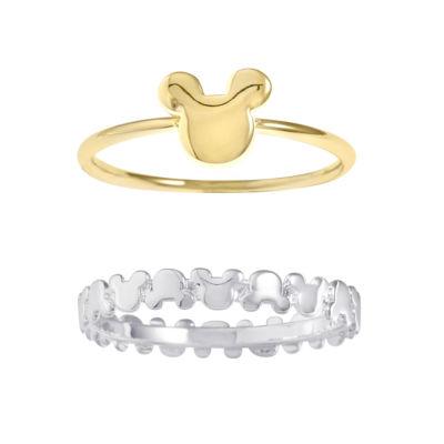 Disney Disney Womens Silver Over Brass