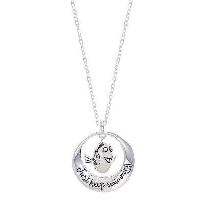 Disney Disney Womens Finding Dory Pendant Necklace