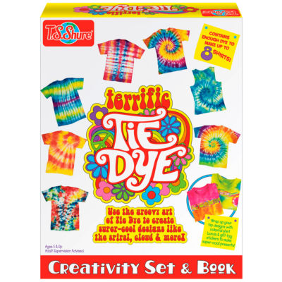 T.S. Shure - Terrific Tie Dye Creativity Set and Book