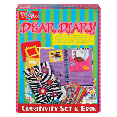T.S. Shure - Dear Diary Creativity Set and Book