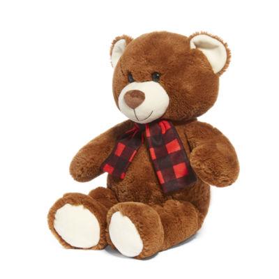 North Pole Trading Co. Stuffed Bear