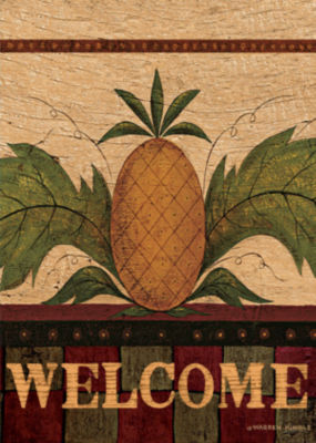 LANG Welcome Pineapple Large Flag