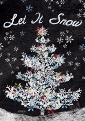 LANG Let It Snow Large Flag