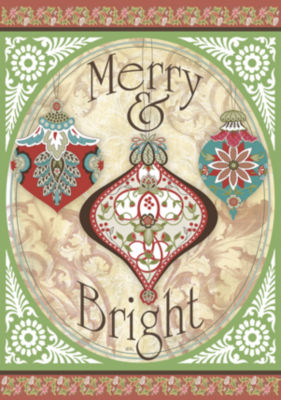 LANG Merry & Bright Large Flag