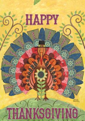 LANG Thanksgiving Large Flag