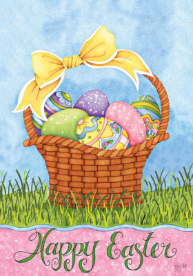 LANG Easter Basket Large Flag (1710076)