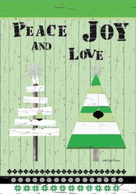 LANG Oh Christmas Tree Large Flag (1710095)
