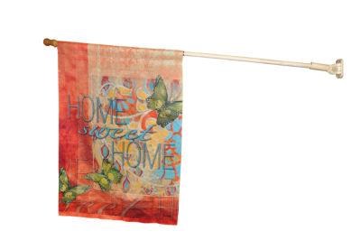 LANG Wood Finish Large Flag Pole (1712001)