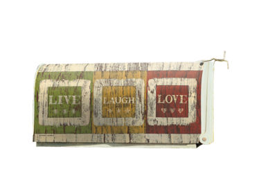 LANG Live Laugh Love Mailbox Cover