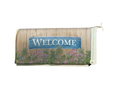 LANG Welcome Mailbox Cover