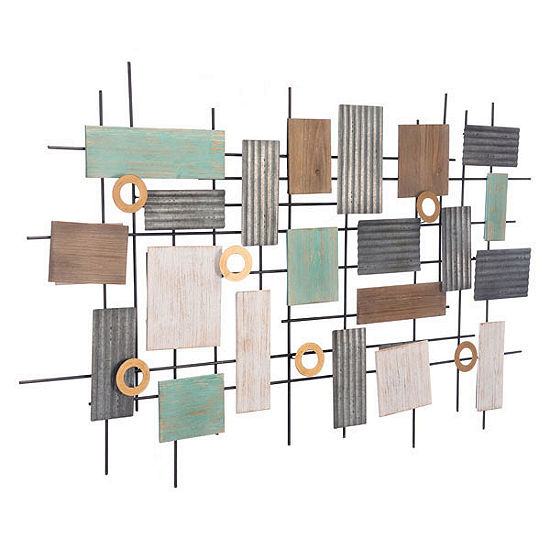 Placas Metal Wall Art