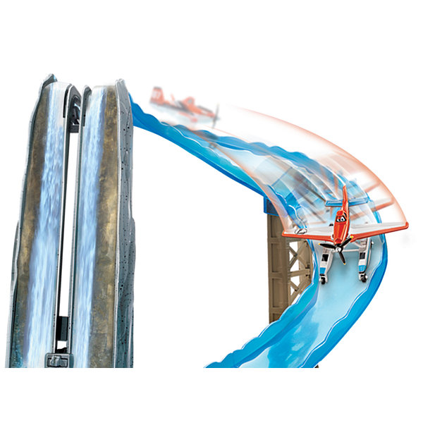 Disney Planes Waterfall Rescue Track Set