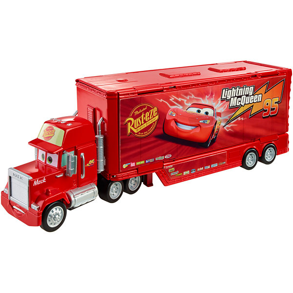 Disney Cars Wheel Action Drivers Mack PlaySet