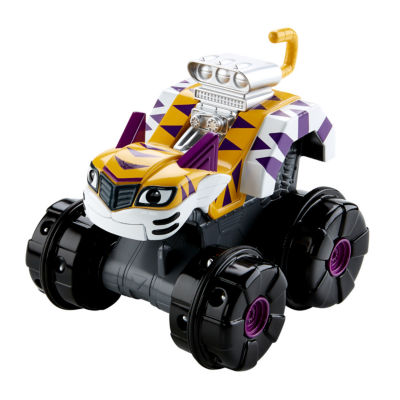 Fisher-Price Nickelodeon Blaze and the Monster Machines Super TIGER CLAWS STRIPES