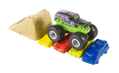 Hot Wheels Monster Jam CRASH & CarRY ARENA Play Set