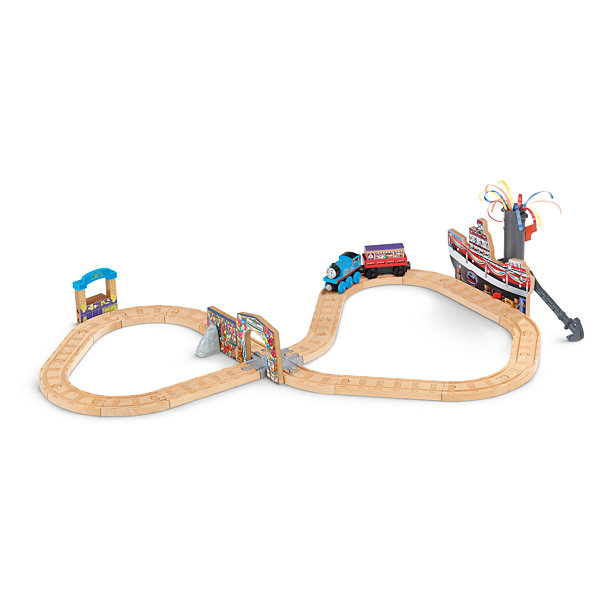 Fisher-Price Thomas Wooden Railway Set Celebrationon Sodor