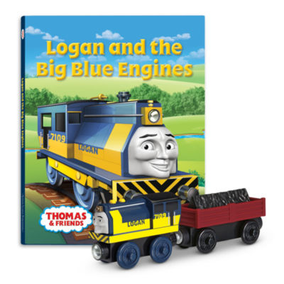 Fisher-Price Thomas & Friends Logan and the Big Blue Engines Book Pack