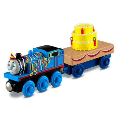 Fisher-Price Thomas & Friends Wooden Railway Happy Birthday