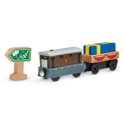 Fisher-Price Thomas & Friends Wooden Railway Thomas' Birthday Surprise Accessory Pack