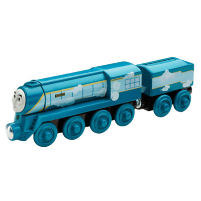 Fisher-Price Thomas & Friends Wooden Railway Roll & Whistle Connor