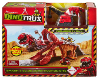 Dinotrux SMASH & SLIDE CONSTRUCTION SITE