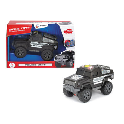 Dickie Toys - Light and Sound Motorized Police Unit Vehicle