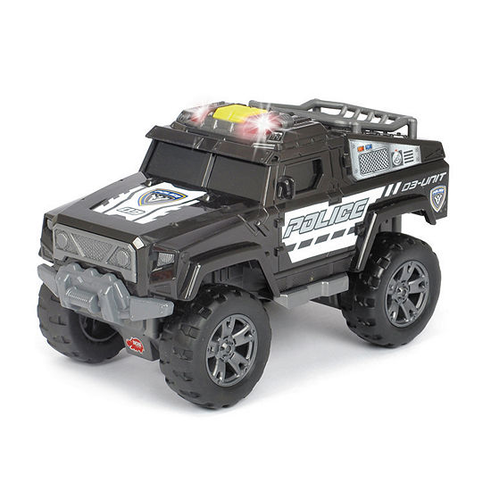 Dickie Toys Light And Sound Motorized Police Unit Vehicle