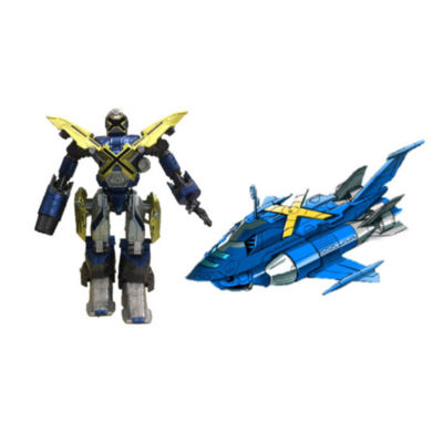 Bandai America - Mech-X4 5 Inch Robot and Submarine Dual Pack