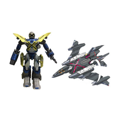 Bandai America - Mech-X4 5 Inch Robot and Jet Dual Pack