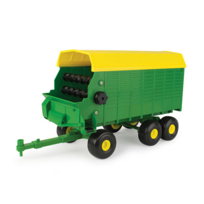 TOMY - ERTL John Deere Big Farm Forage Wagon 1/16 Scale