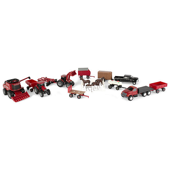 Ertl Case Ih 1 64 Scale 20 Piece Vehicle Value Set