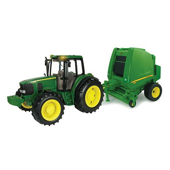 163a5a0c18 TOMY - ERTL John Deere Big Farm Tractor and Baler - JCPenney