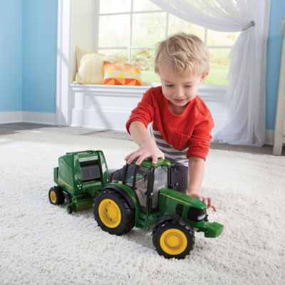 TOMY - ERTL John Deere Big Farm Tractor and Baler