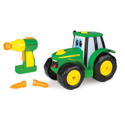 TOMY - John Deere Build-A-Johnny Tractor