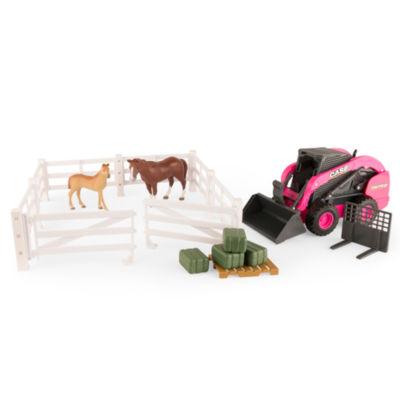 TOMY - ERTL Case IH Big Farm SV280 Steer Hobby Farm Set