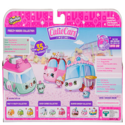 Shopkins - Cutie Cars 3 Pack - Freezy Riders