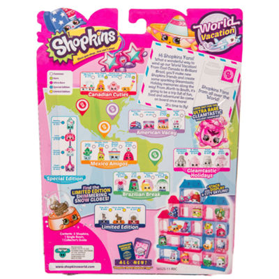 Shopkins - Series 8-5 Pack Wave 3 - Colors and Styles Will Vary