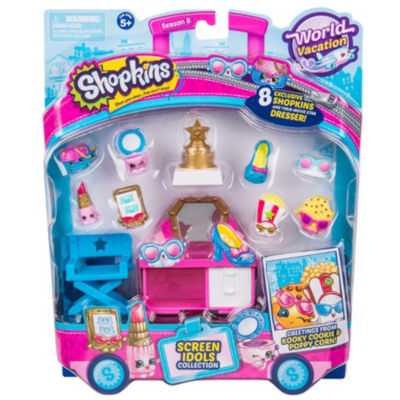Shopkins - Season 8 Wave 3 Theme Pack Screen Idols - Colors and Styles Will Vary
