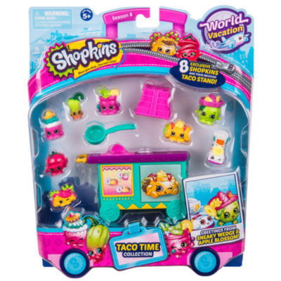 Shopkins - Season 8 Wave 3 Theme Pack Taco Time - Colors and Styles Will Vary
