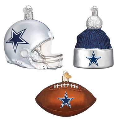 Dallas Cowboys Christmas Ornaments (3)
