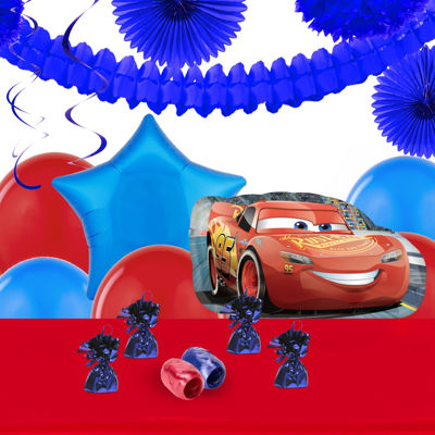 Disney Cars 3 Decoration Kit