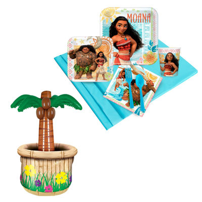 Disney Moana Tableware & Cooler Kit