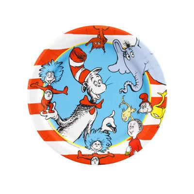 Dr. Seuss - Dessert Plate