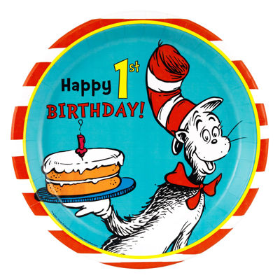 Dr. Seuss 1st - Dinner Plate