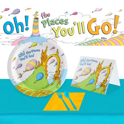 Dr. Seuss Oh The Places You'll Go Ultimate Experience Party for 48