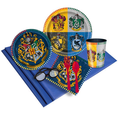 Harry Potter 16 Guest Party Pack & Wizard Glasses