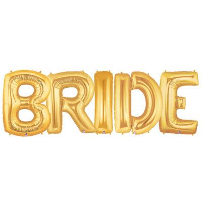 Jumbo Foil Balloons-BRIDE
