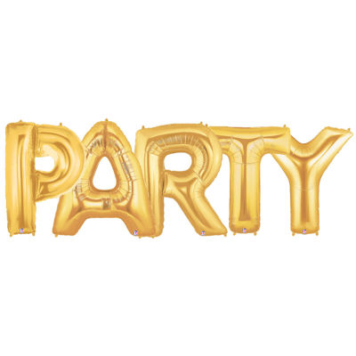 Jumbo Foil Balloons-PARTY