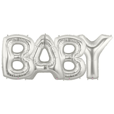 Jumbo Foil Balloons-BABY