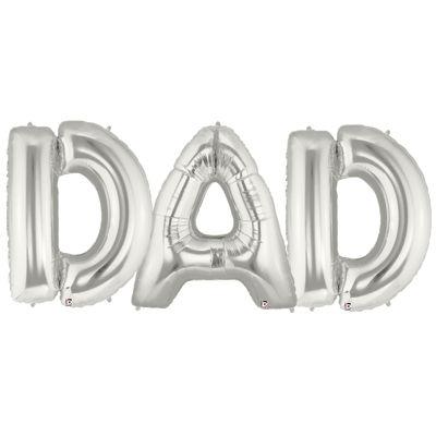 Jumbo Foil Balloons-DAD